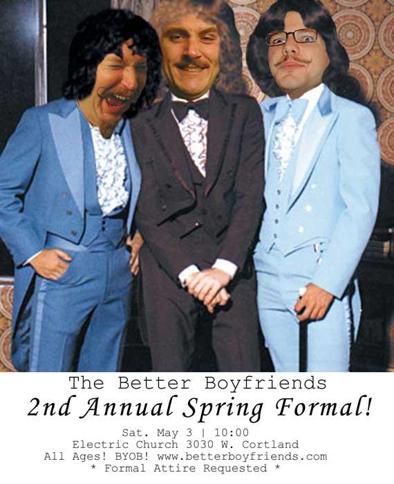 2nd annual spring formal prom-handbill